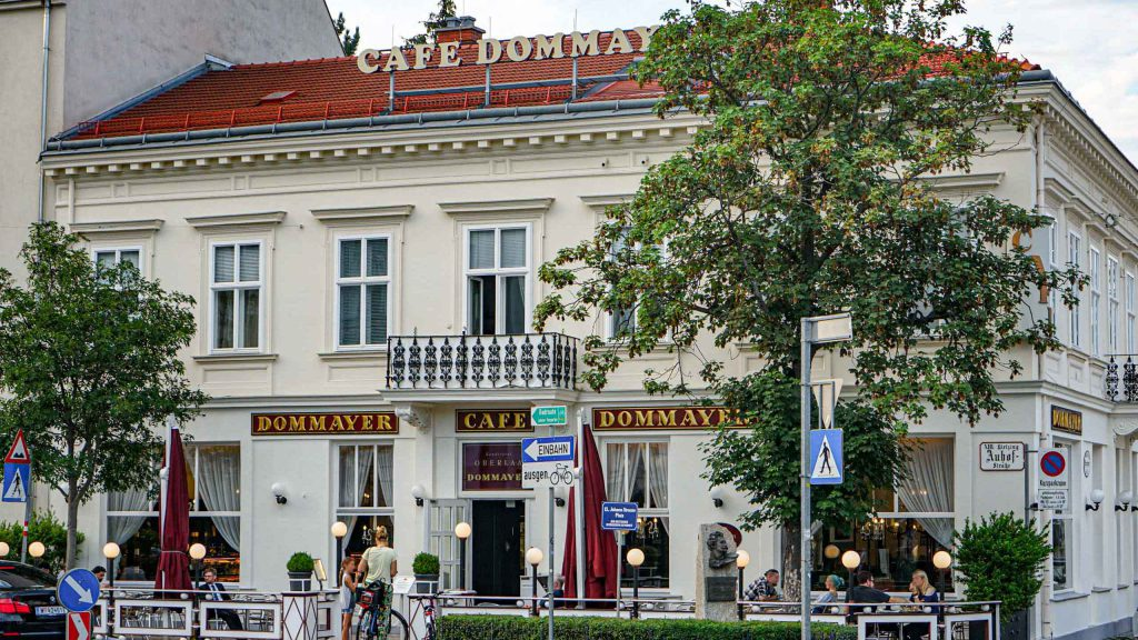 Café Dommayer' Kurkonditorei Oberlaa