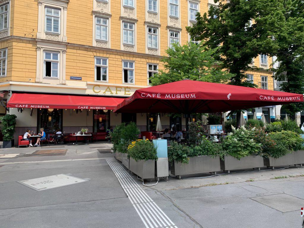 Das Cafe Museum von außen