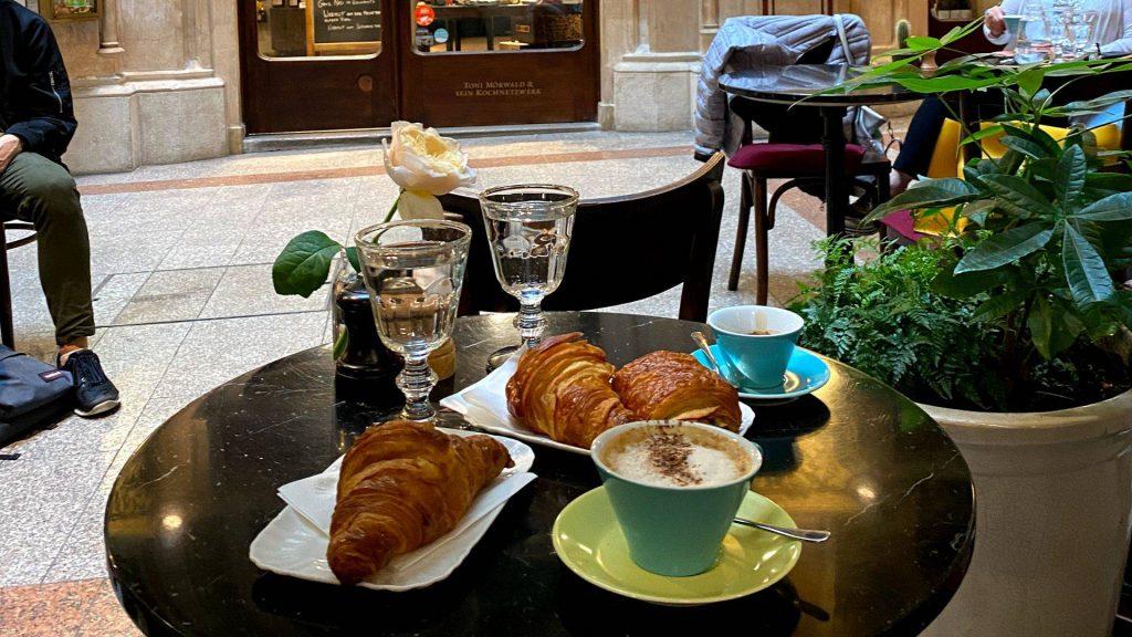Französische Cafés in Wien Beaulieu