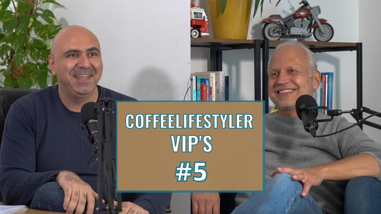 COFFEELIFESTYLER VIP'S SHOW #6 | OTTO BAYER VON BALTHASAR KAFFEE BAR