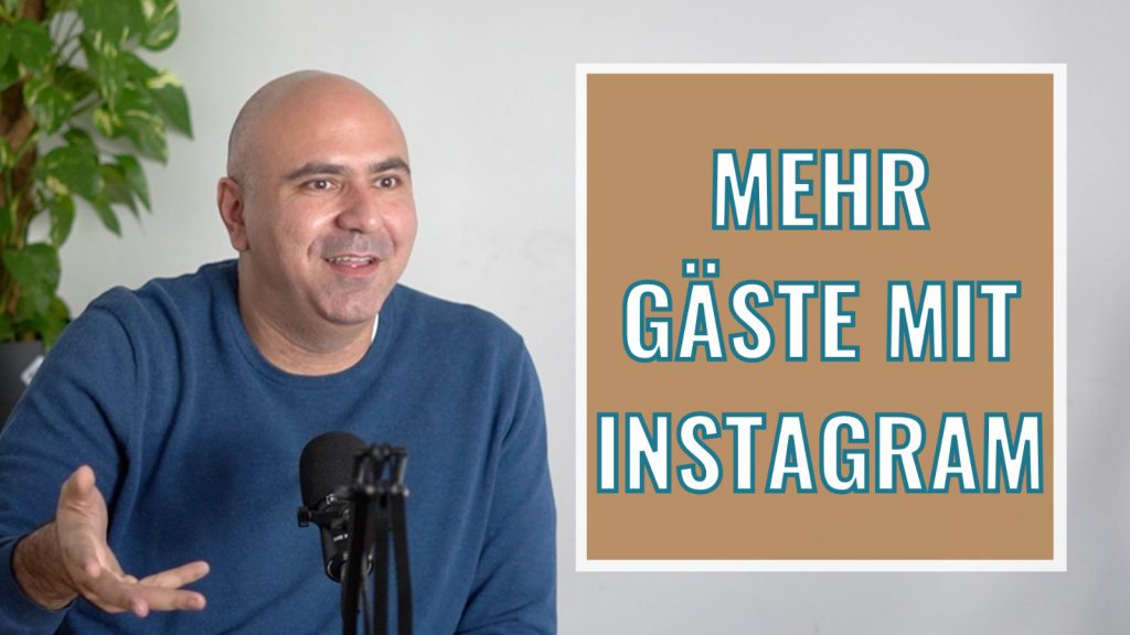 Mehr Gäste mit Instagram