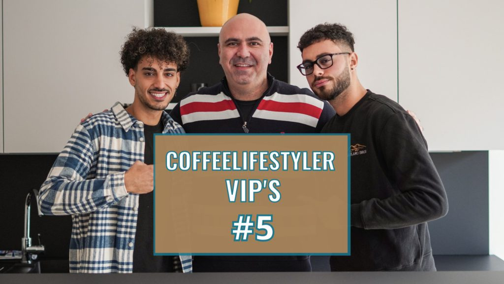 Coffeelifestyler VIP'S Show #5 Casolaro Bros